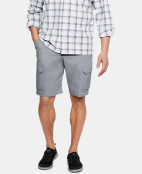 New Arrival Men's UA Fish Hunter Cargo Shorts  4 Colors $65