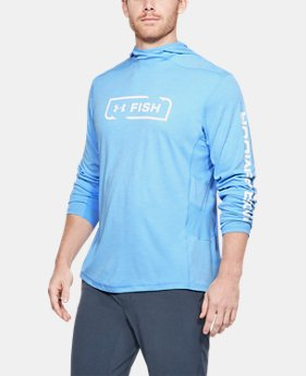 Men's UA Fish Hunter Tech Hoodie  1  Color Available $60