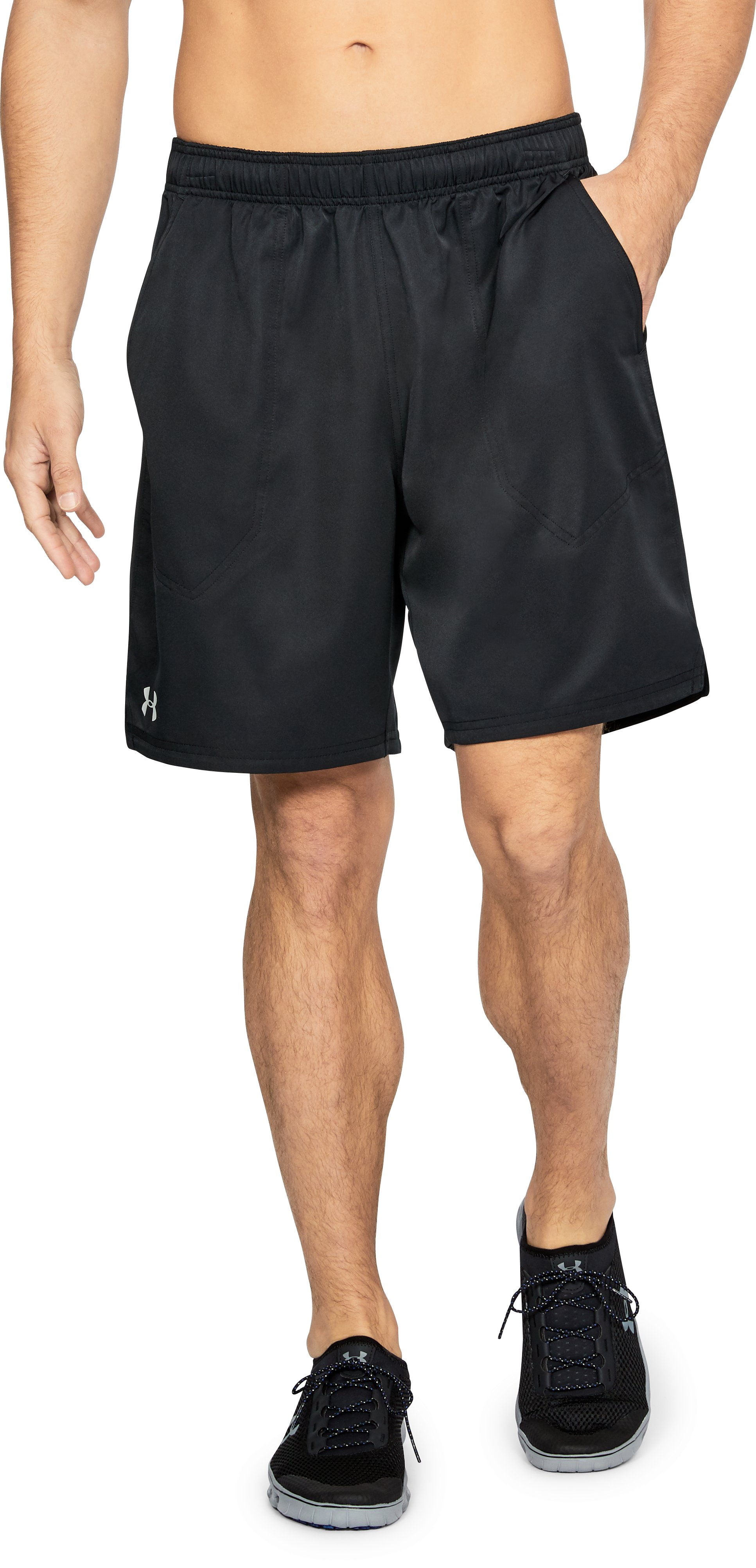 Men's UA Coastal Shorts, Black