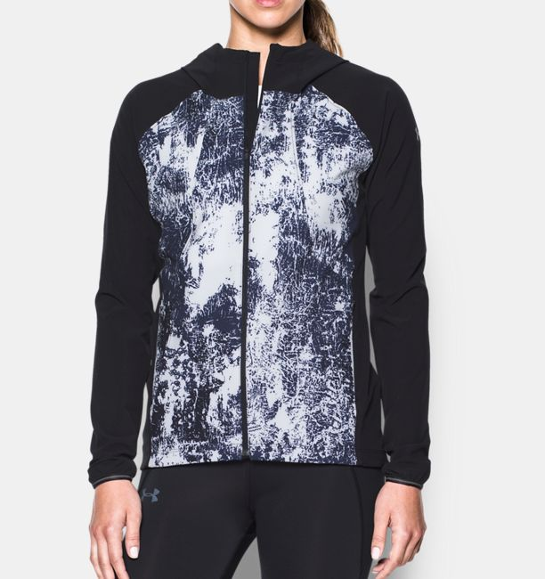23e951144db1 Women s UA Out Run The Storm Printed Jacket