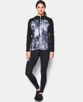 New Arrival Women's UA Out Run The Storm Printed Jacket  1 Color $99.99