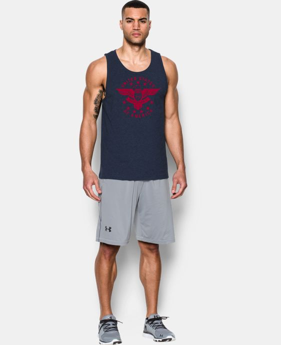Men's UA Freedom Eagle Tank LIMITED TIME: FREE U.S. SHIPPING 1 Color $18.99
