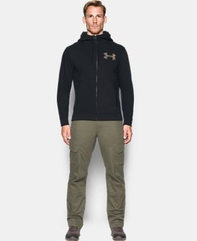 Men's UA Threadborne™ Full Zip Hoodie LIMITED TIME OFFER 1 Color $45.32