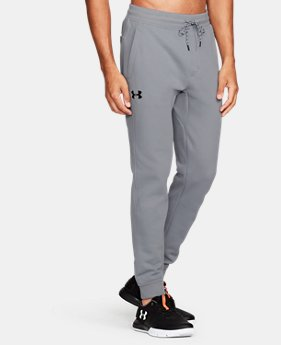 New Arrival Men's UA Armour® Fleece Twill Jogger  1 Color $64.99