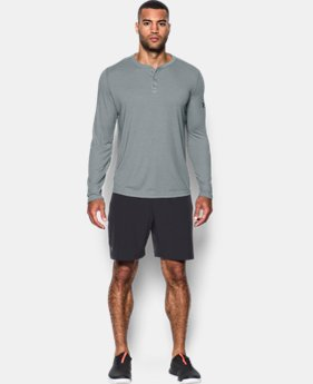New to Outlet Men's UA Threadborne™ Henley  1  Color Available $33.74