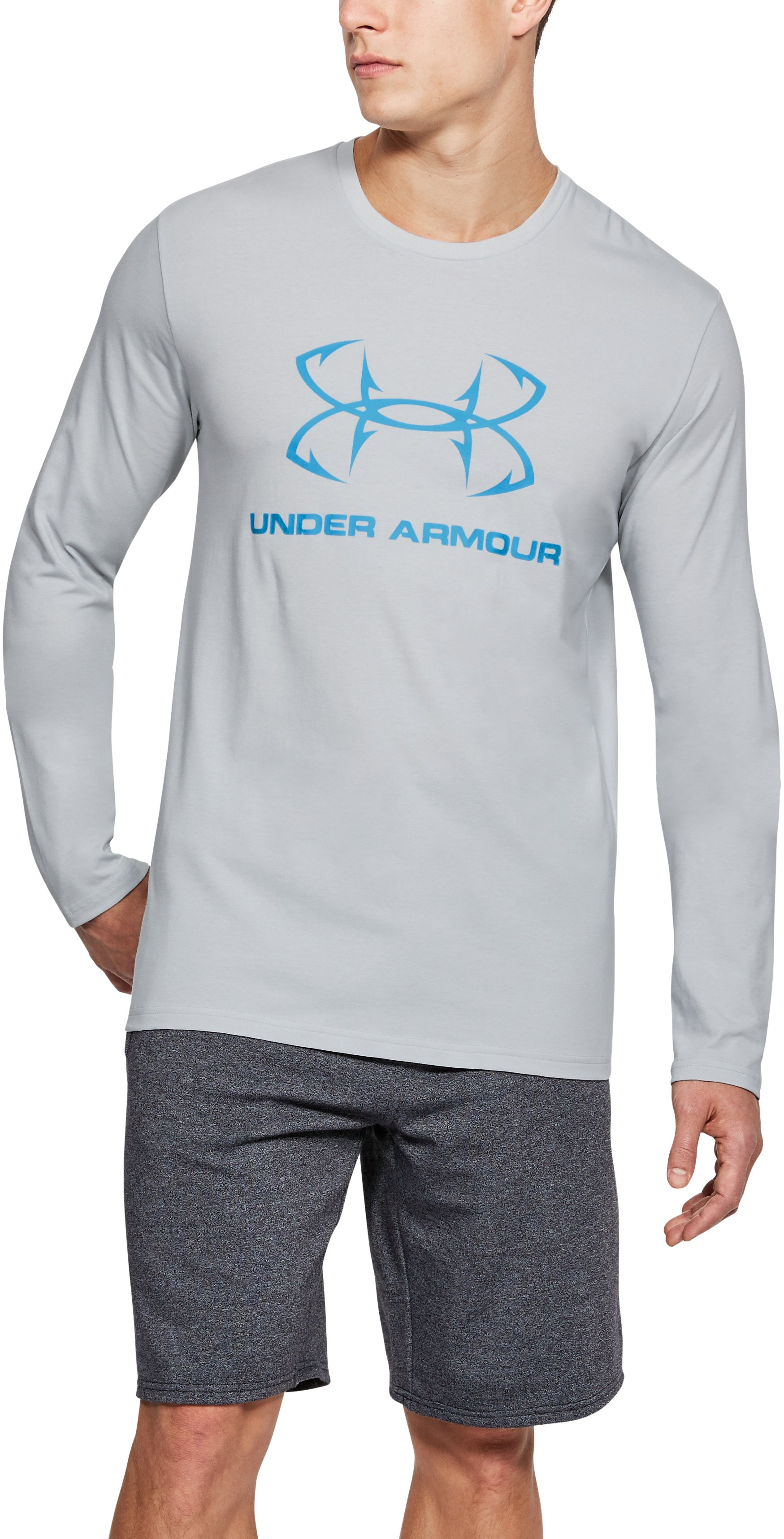 Men's UA Fish Hook Sportstyle Long Sleeve, Elemental