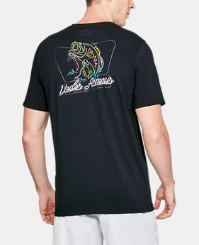 New Arrival  Men's UA Neon Bass T-Shirt  1 Color $35
