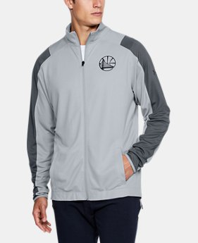 Men's NBA Combine UA Pinnacle Warm-Up Jacket  1  Color Available $90