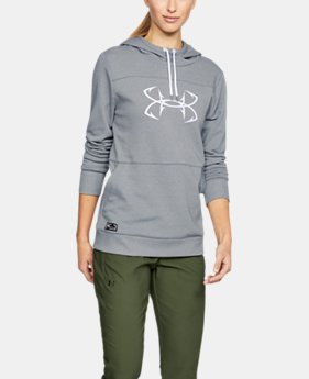 Women's UA Microthread Shoreline Terry Hoodie  1  Color Available $70