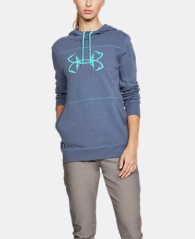 New to Outlet Women's UA Microthread Shoreline Terry Hoodie  2  Colors Available $36