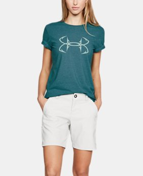 Women's UA Hook Logo T-Shirt  4  Colors Available $22.5
