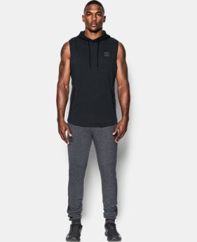 New Arrival  Men's UA Sportstyle Sleeveless Hoodie  1 Color $64.99