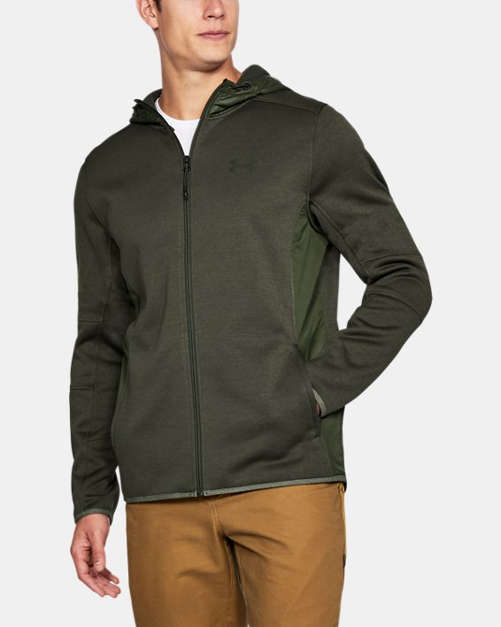 Men's UA Swacket, Green, pdpMainDesktop image number 1