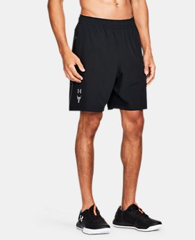 Men's UA x Project Rock Vortex Shorts  1 Color $69.99