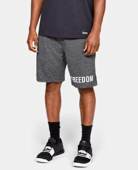 Men's UA Freedom Tech Terry Shorts  1  Color Available $40