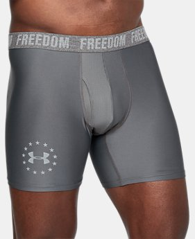 "New Arrival Men's UA Freedom 6"" Boxerjock®  2 Colors $20"