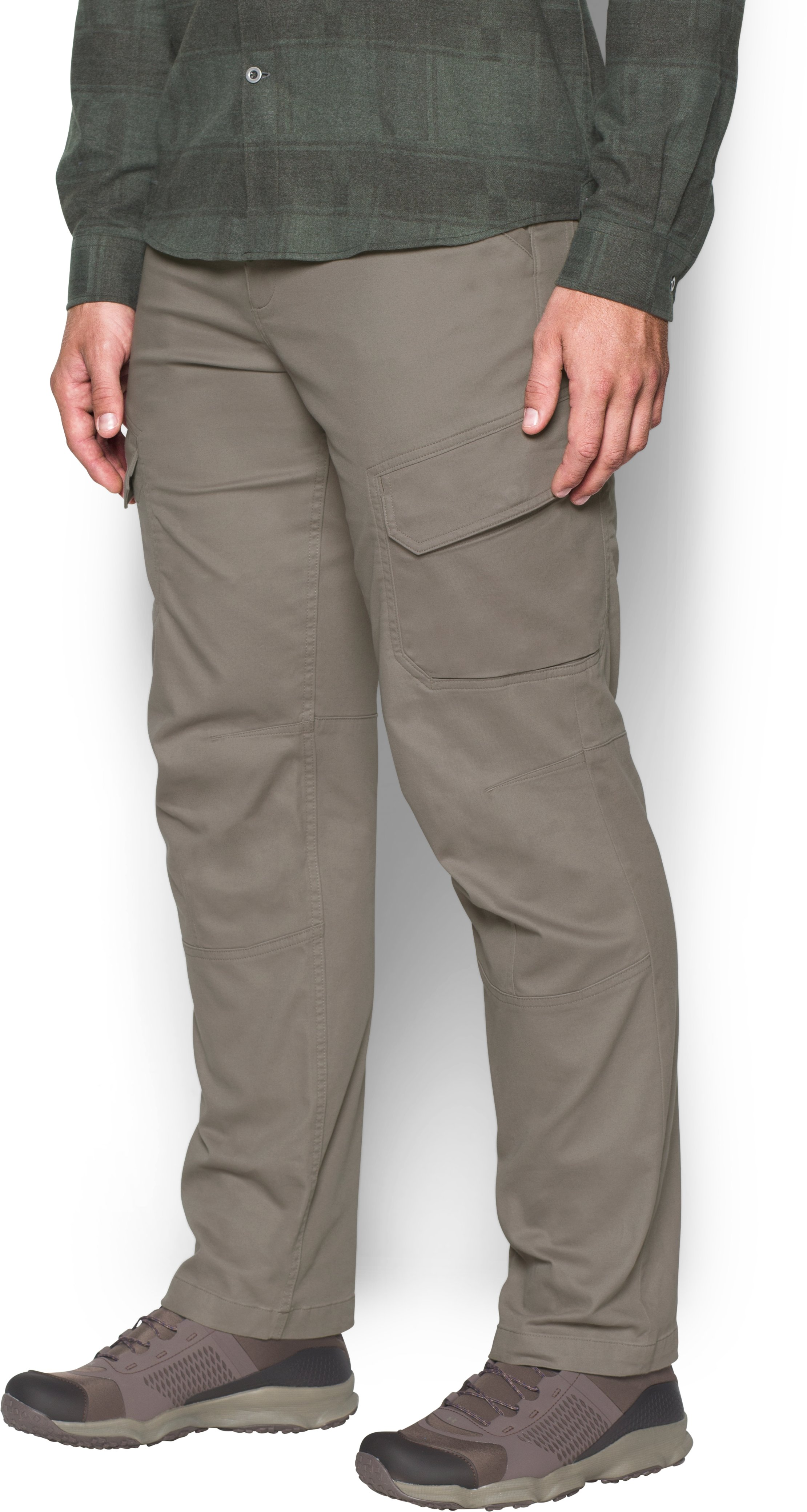 Men's UA Payload Cargo Pants, STONELEIGH TAUPE,