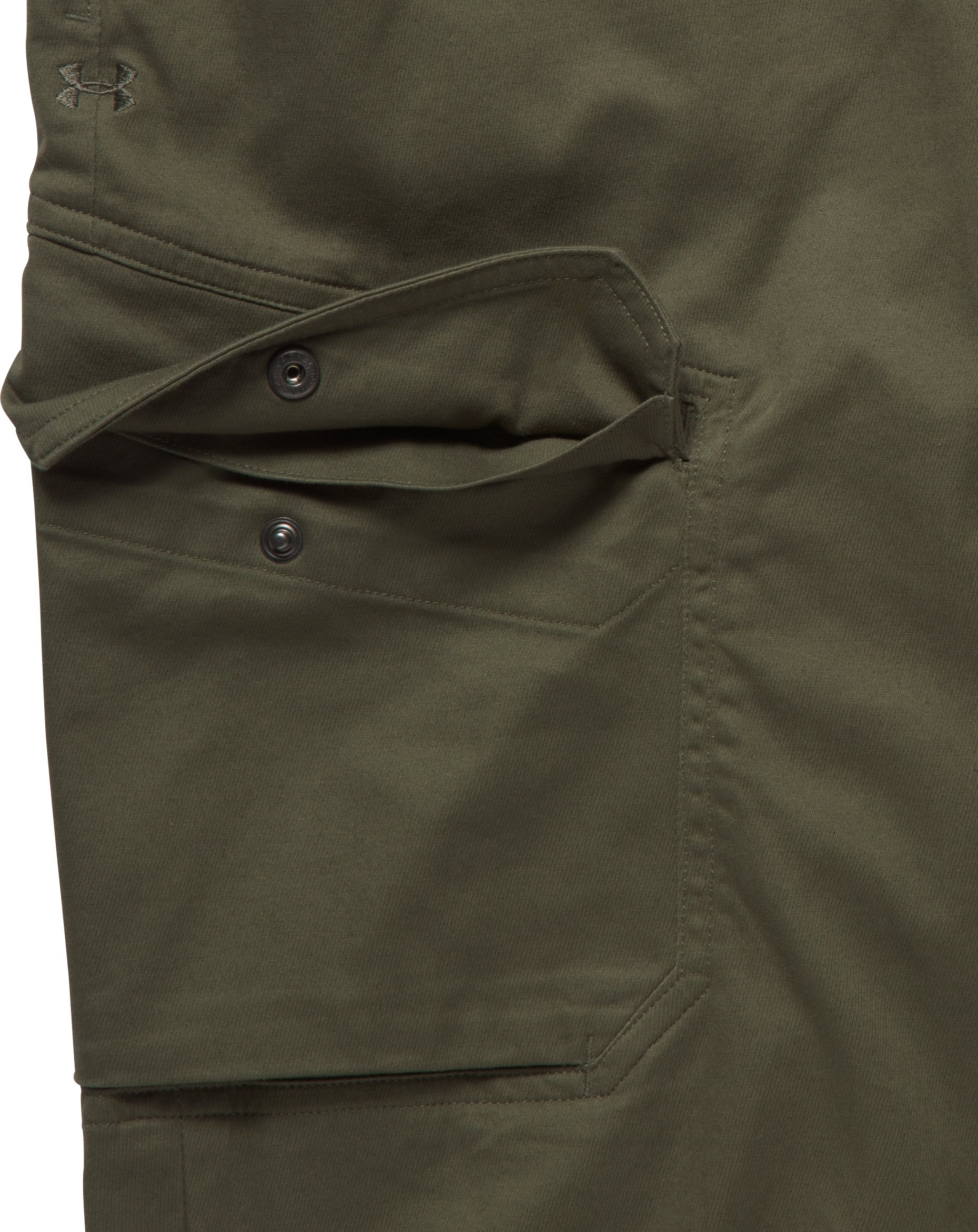 Men's UA Payload Cargo Pants, Marine OD Green, undefined