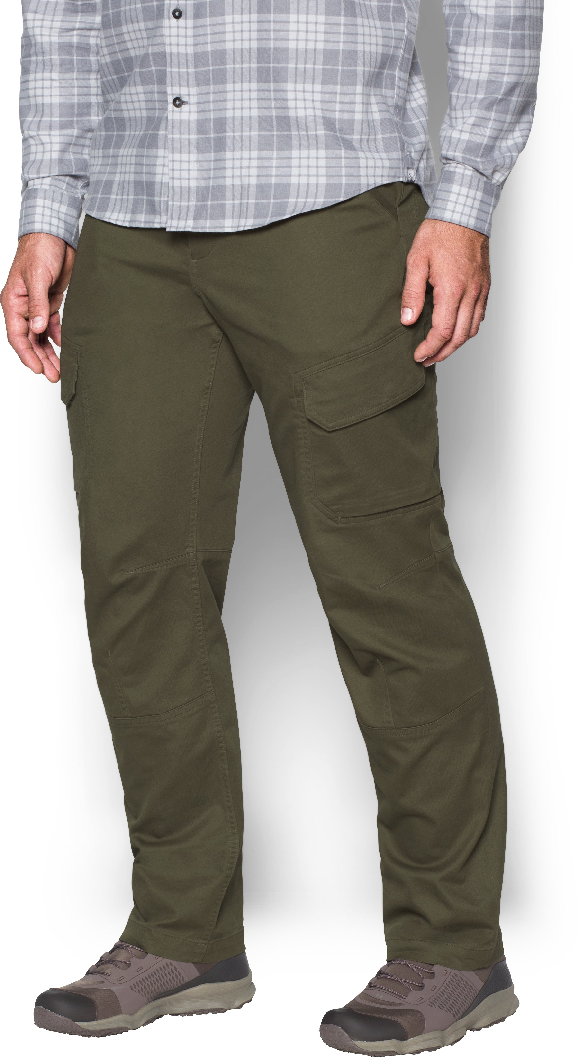 Men's UA Payload Cargo Pants, Marine OD Green