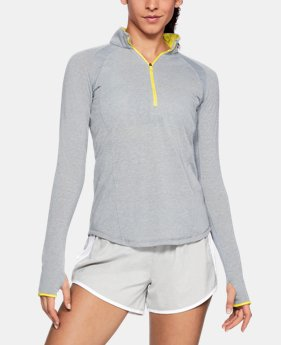 Women's UA Swyft ½ Zip  1  Color Available $65
