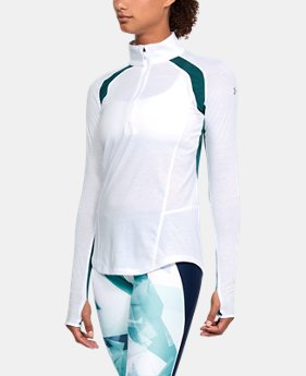 Women's UA Swyft ½ Zip  1 Color $65