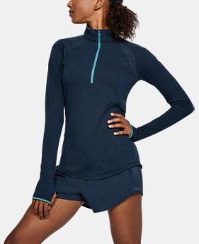 Women's UA Microthread Swyft ½ Zip  4  Colors Available $65
