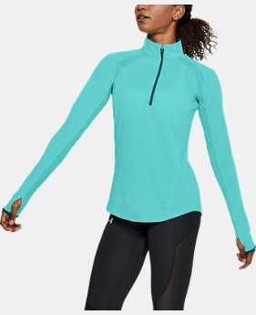 New Arrival Women's UA Swyft ½ Zip  1 Color $65
