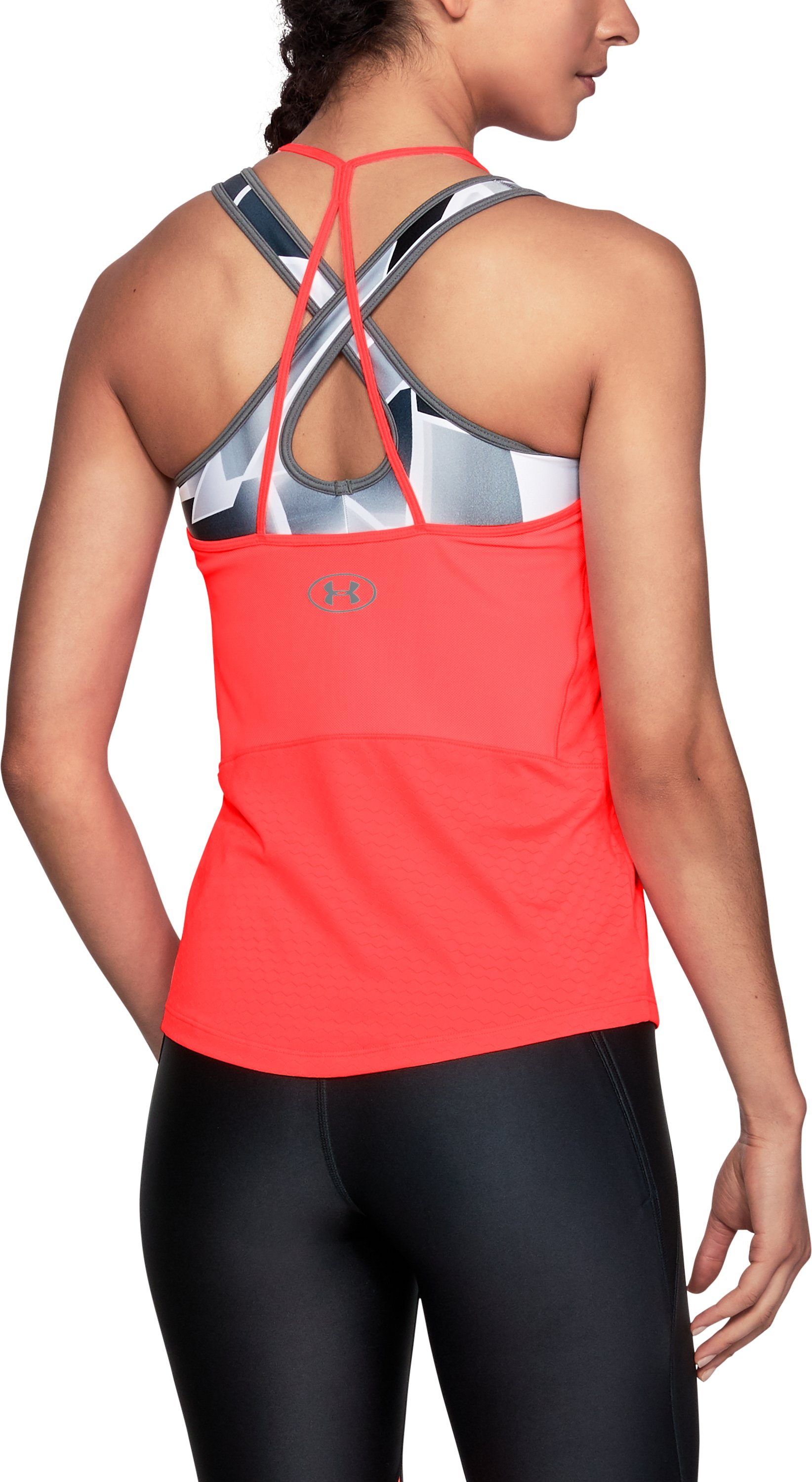 Women's UA HexDelta Tank, BRILLIANCE