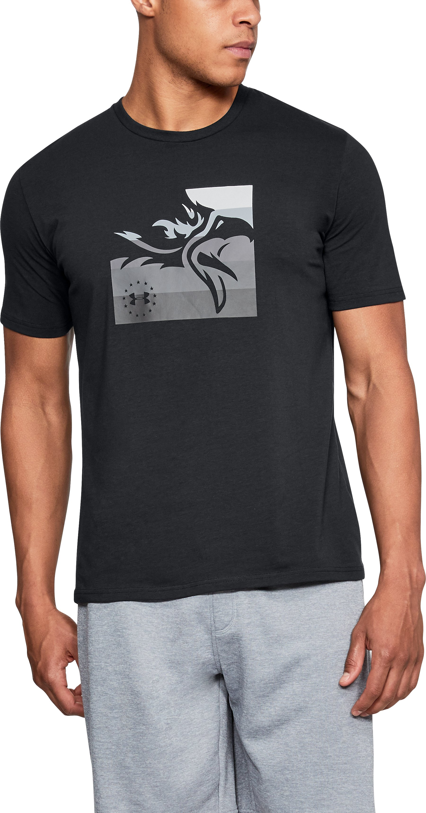 Men's UA Freedom Eagle T-Shirt 3 Colors $18.99