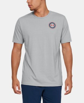 Men's UA Freedom USA Capitol T-Shirt  1  Color Available $15