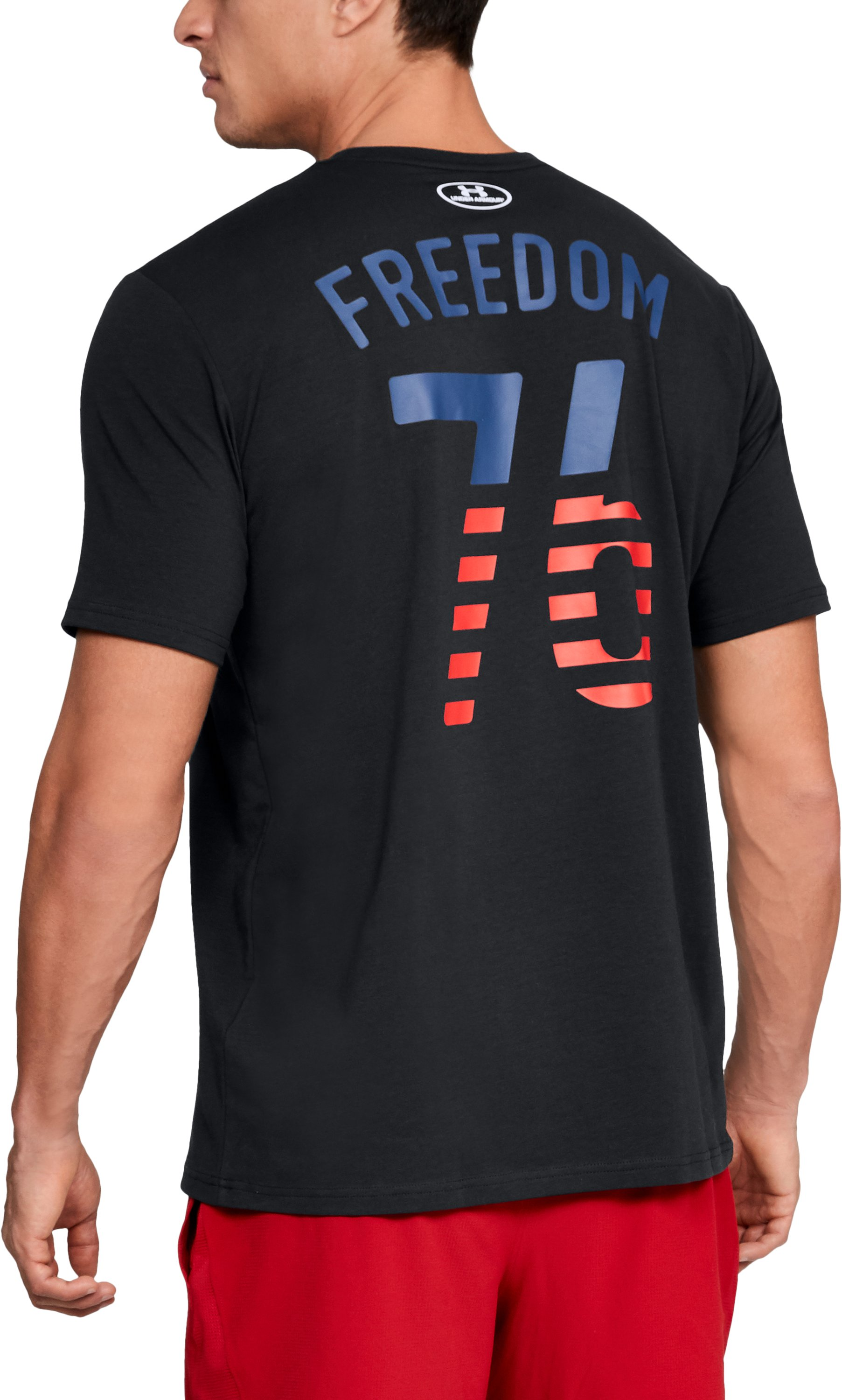 Men's UA Freedom Team USA T-Shirt, Black ,
