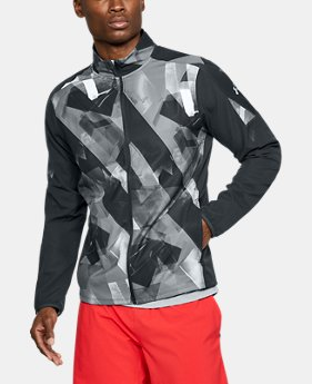Men's UA Storm Out & Back Printed Jacket  1 Color $85