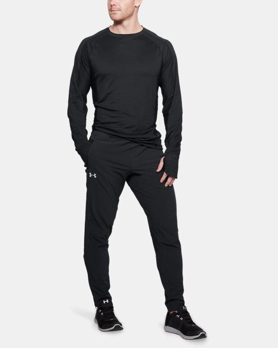 Men's UA Outrun The Storm Pants, Black, pdpMainDesktop image number 1