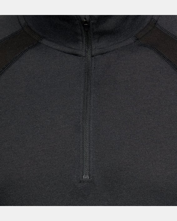 Maillot UA Swift ¼ Zip pour homme, Black, pdpMainDesktop image number 5