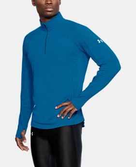 Men's UA Microthread Swyft ¼ Zip  8  Colors Available $65
