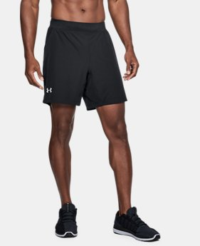 "Men's UA Speedpocket Swyft 7"" Shorts  1 Color $50"