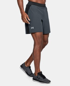 "Men's UA Speedpocket Swyft 7"" Shorts  4  Colors $50"