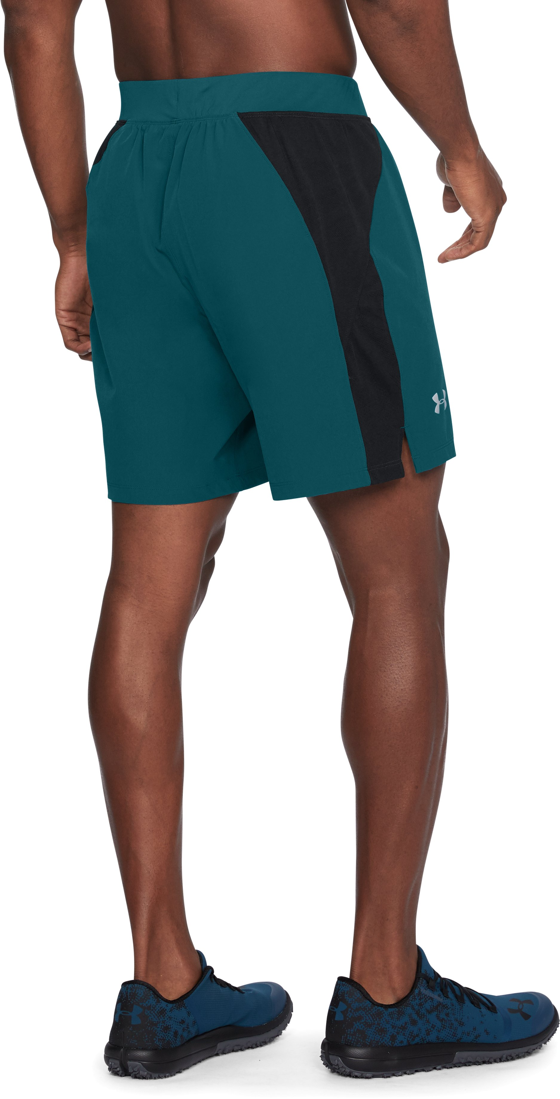Men's UA Speedpocket Swyft 7'' Shorts, TOURMALINE TEAL,