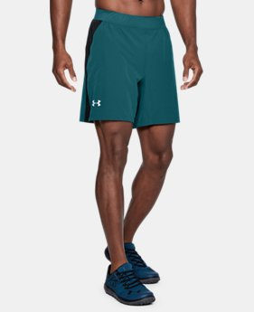 "Men's UA Speedpocket Swyft 7"" Shorts  3 Colors $50"