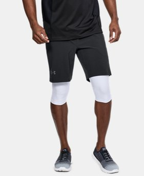 New Arrival Men's UA Speedpocket Long 2-in-1 Shorts  3 Colors $85