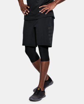 New Arrival Men's UA Speedpocket Long 2-in-1 Shorts  2 Colors $85