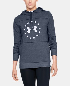 Women's UA Freedom Microthread Hoodie  1  Color Available $60