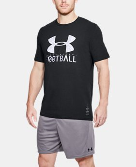 Men's UA FB Wordmark T-Shirt  1 Color $24.99