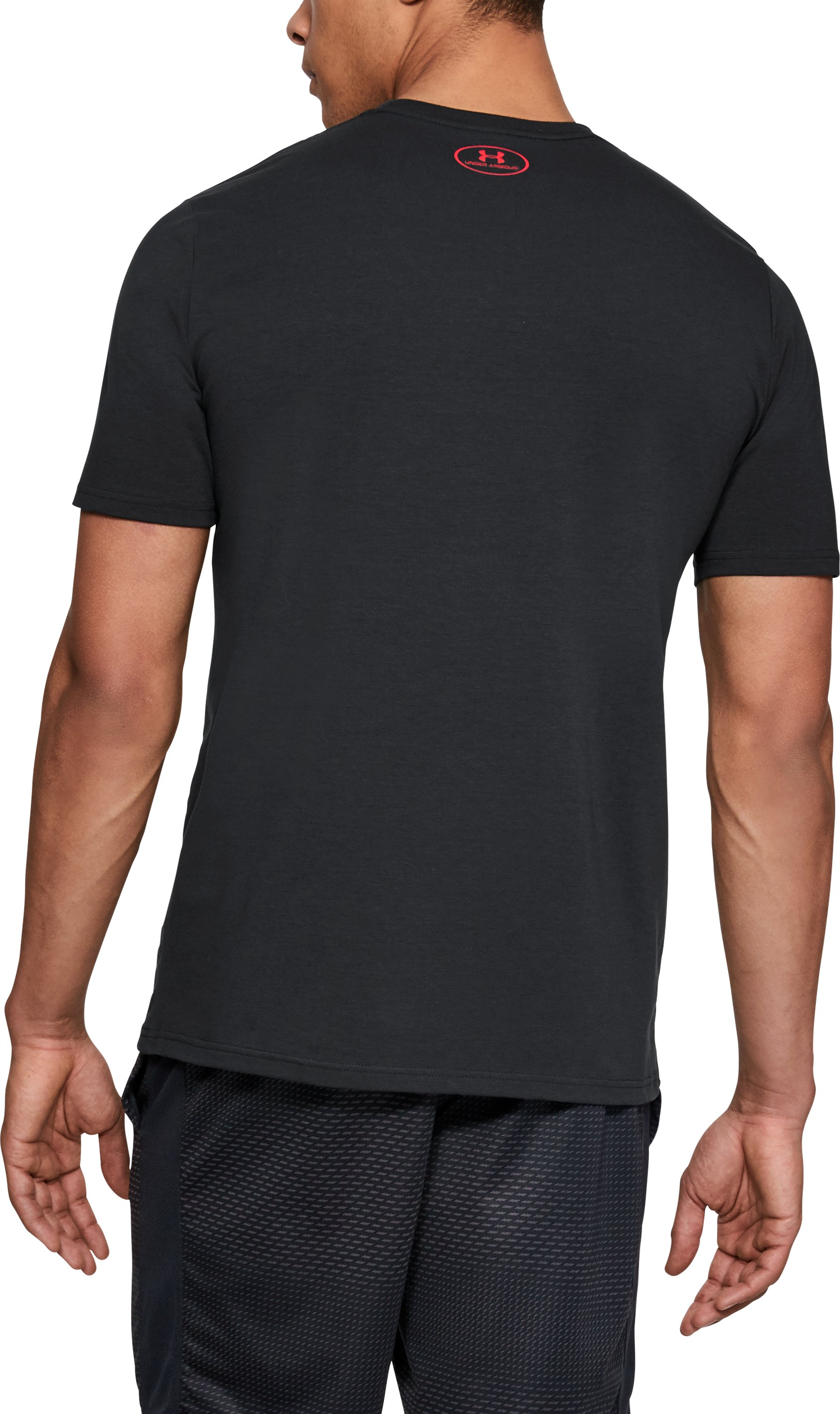 Men's UA Unstoppable Speed T-Shirt, Black ,