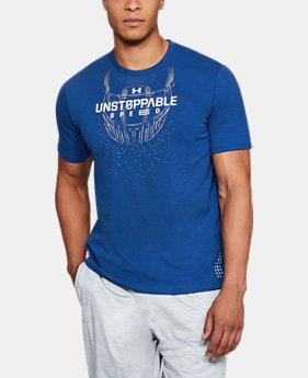 Men's UA Unstoppable Speed T-Shirt  1  Color Available $25