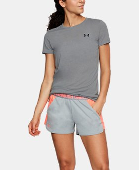 Women's UA Twist Short Sleeve  1 Color $29.99