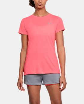 New Arrival Women's UA Twist Short Sleeve  6 Colors $29.99