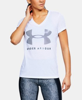 Women's UA Siro Graphic V-Neck  1  Color Available $32.99