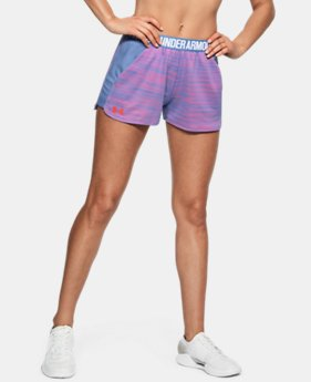 Women's UA Play Up Shorts FREE U.S. SHIPPING 2  Colors Available $29.99
