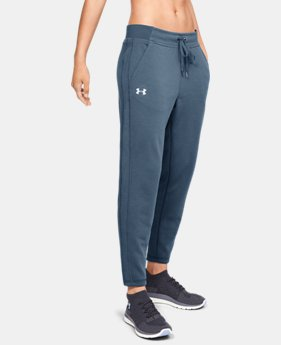 Women's UA Microthread Train Pants  1  Color Available $41.25